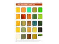 Палитра цветов Pinotex Wood&Terrace Oil