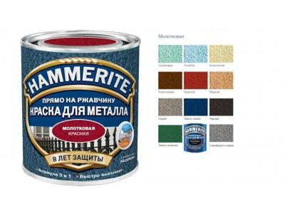 Палитра молотковой краски Hammerite