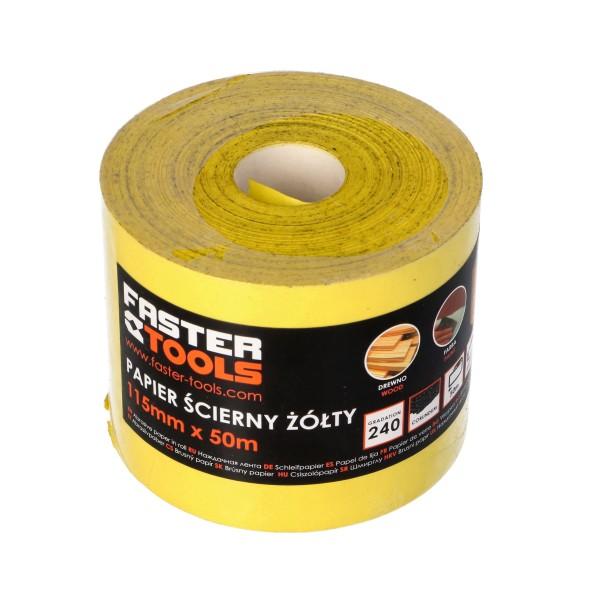 Наждачная бумага GIPEX 100 рулон 50м (8шт/кор)