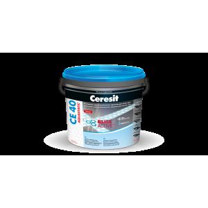 *04 фуга Ceresit CE40 2кг серебряно-серая