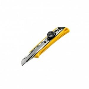 Нож с выдвижным лезвием 18мм металлич (12шт/кор)