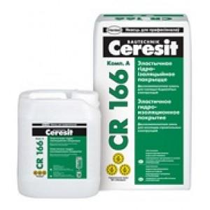 Ceresit CR166 смесь эластичная гидроизолирующая двухкомпонентная 8л+24кг