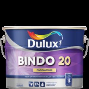 Краска DULUX Prof Bindo 20 полуматовая 2,5л белая BW