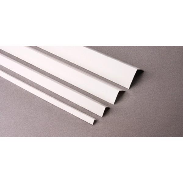 Угол отделочный KU 25 белый L=2,7 м (Профиль ПВХ) 50шт