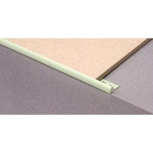 Раскладка для плитки 9мм нар. белая L=2,5м (профиль ПВХ) 100шт