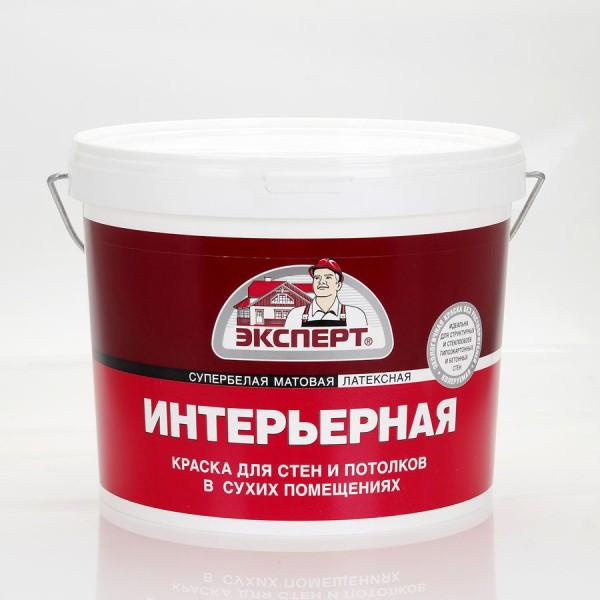 ЭКСПЕРТ Краска интерьерная супербелая (7 кг) -30С