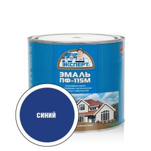 """ЭКСПЕРТ Эмаль ПФ-115М глянц.синяя (1,8кг; 6шт) """""""