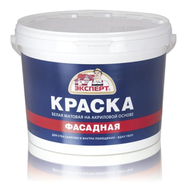 ЭКСПЕРТ Краска фасадная акриловая (7кг)