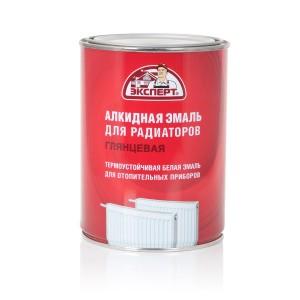 ЭКСПЕРТ Эмаль алкидная для радиаторов белая (0,9 кг; 6шт)