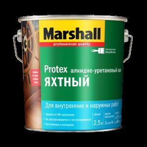 Лак MARSHALL Protex (Маршал протекс) ЯХТНЫЙ ГЛЯНЦЕВЫЙ  2,5 л