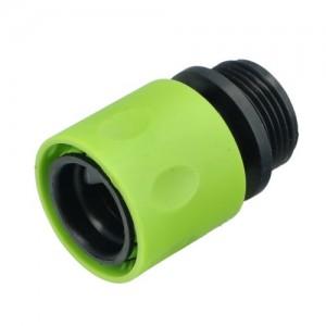 """Коннектор пластиковый FORESTER для шланга с наружн. резьбой 3/4"""""""