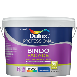 Краска Dulux Pro Bindo Facade  BW 9л