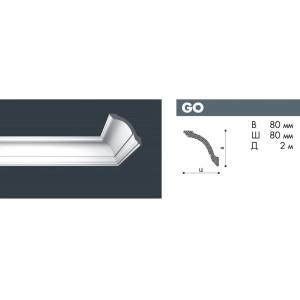 Плинтус потолочный NMC NOMASTYL GO экструд. 80х80мм белый 60шт/кор *