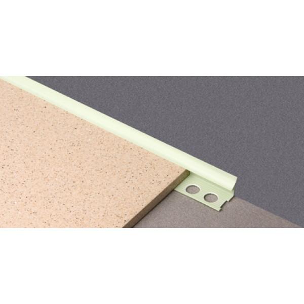 Раскладка для плитки 7мм внутр. белая L=2,5м (профиль ПВХ) 50шт