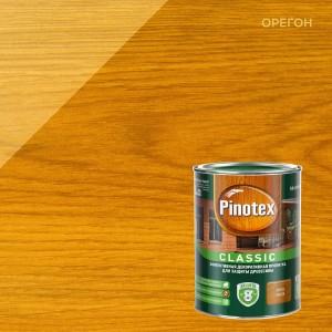 Пропитка для дерева PINOTEX Classic (пинотекс классик) ОРЕГОН 1л для наружных работ
