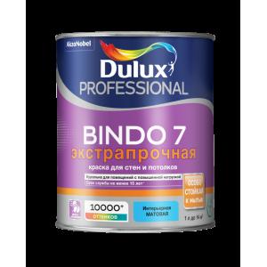 Краска DULUX Prof Bindo 7 матовая 0.9л для стен и потолков BC база для насыщ.тонов