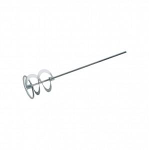 Венчик для миксера строительного для замеса раствора, штукатурок и клея (шестигр.) 80х400мм 7-10кг
