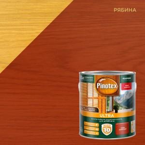 Лазурь для дерева PINOTEX Ultra (пинотекс ультра) РЯБИНА 2,7л