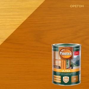 Лазурь для дерева PINOTEX Ultra (пинотекс ультра) ОРЕГОН 1л