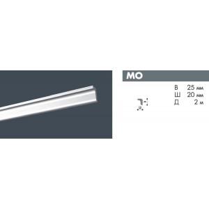 Плинтус потолочный NMC DECOPLINTUS MO экструд. 25х20мм белый 140шт/кор