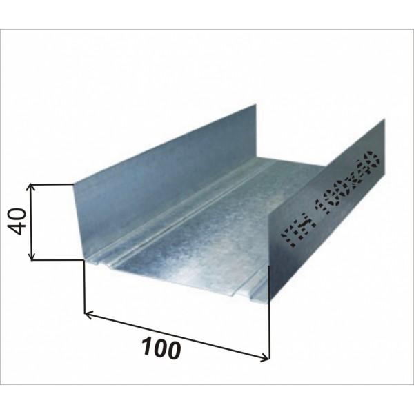 Профиль 100-40-0,6-3000  36м.п.\432 м.п. РБ