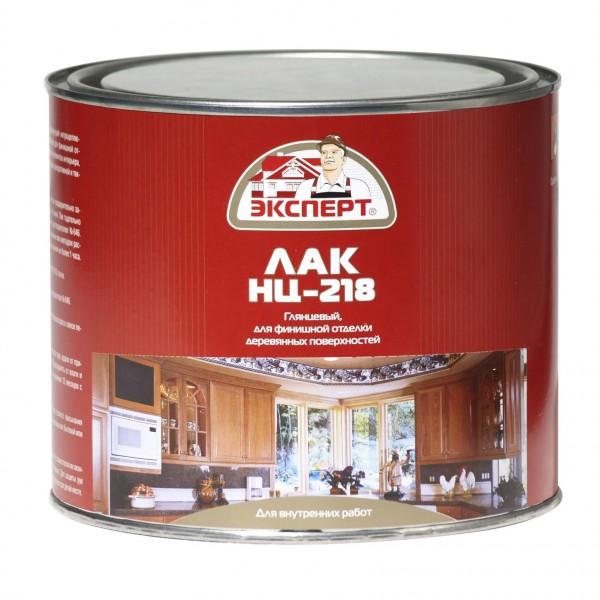 ЭКСПЕРТ Лак мебельный НЦ-218М (1.7кг; 6шт)