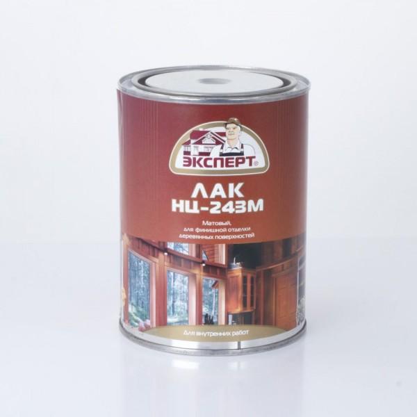 ЭКСПЕРТ Лак мебельный НЦ-243М матовый (0.7кг; 6шт)