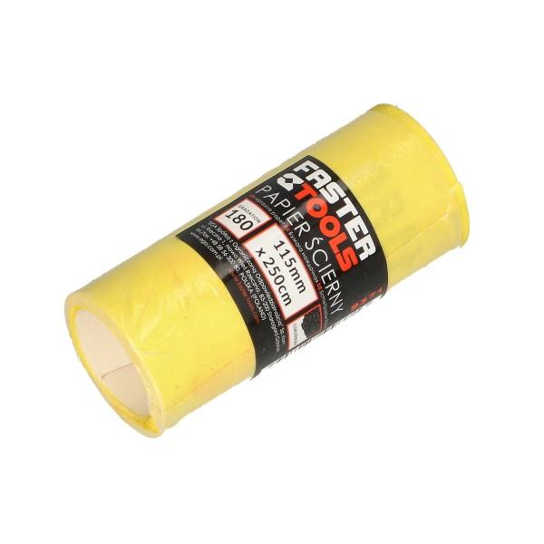 Наждачная бумага FASTER TOOLS рулон 2,5м шир.115мм 150