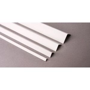 Угол отделочный KU 50*50  ЛЮКСАЛ белый L=2,7 м (Профиль ПВХ) 50шт