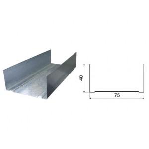 Профиль 75-40-0,50-3000  36м.п./576м.п