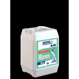ТАЙФУН МАСТЕР №102 грунтовка - концентрат кан. 5кг белая