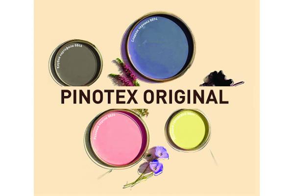 Палитра цветов Pinotex Original